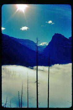 Glacier National Park: Logan Pass -- 1977