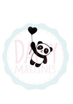 Molde Panda - Estampa   Assista o tutorial: https://www.youtube.com/watch?v=Y83-z20vViU