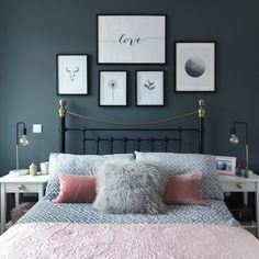 Medium size of bedroom romantic white bedroom decorate my bedroom romantic master bedroom colors bedroom paint Couple Bedroom, Small Room Bedroom, Home Decor Bedroom, Diy Bedroom, Bed Room, Grey Wall Bedroom, Bedroom Ideas For Small Rooms For Adults, Trendy Bedroom, Master Bedrooms