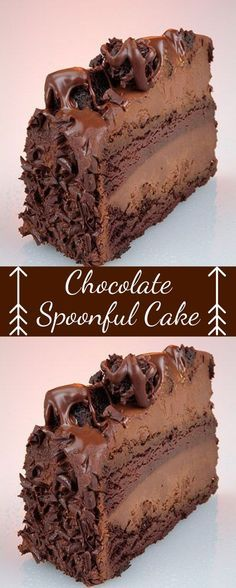 Chocolate Spoonful Cake - Cooking Cake Deliciouse