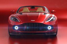 New concept Aston Martin Vanquish Zagato Speedster