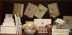 Cid Pear Fine Stationery by Tina Givens will be available soon at crgibson.com!