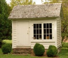 DIY:  How to Turn Salvaged Wood into a Garden Shed - tutorial - via House and Home