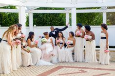Photobomb by the groom - Danada House, July 24, 2014