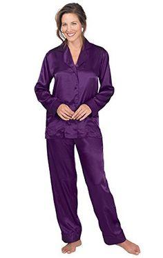 Hue Womens Short Sleeve V-Neck Grey Tee Plus Size Pajama Top