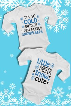 "This bodysuit is part of our EXCLUSIVE ""Snow Cute"" Baby & Toddler 2017 Holiday Collection! ""Snow Cute"" is a handmade original line from Alandalie Boutique! Boy Onesie, Onesies, Baby Boutique, Cute Babies, Toddler Girl, Etsy Seller, Bodysuit, Snow, Holiday"