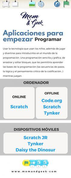 Aplicaciones para empezar a programar MomandGeek