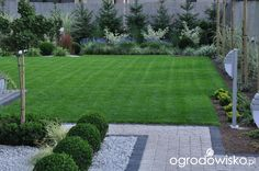 clean and well manicured garden and landscaping design