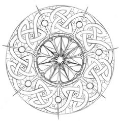 Tarot Wheel of Fortune Sketch by ~puimun on deviantART