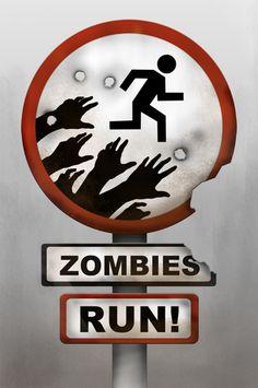 Zombie Running iPhone App