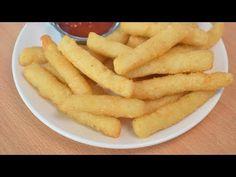 10 मिनट में बनाये सूजी के टेस्टी स्नैक्स - फ्रेंच फ्राइज - सूजी फिंगर चिप्स   Suji French Fries - YouTube Suji Recipe, Potato Bread, Mehndi Designs For Hands, Onion Rings, Bread Crumbs, Fingers, Carrots, Potatoes, Snacks