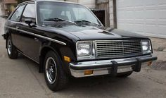 Back in Black: 1981 Chevrolet Chevette - http://barnfinds.com/back-black-1981-chevrolet-chevette/