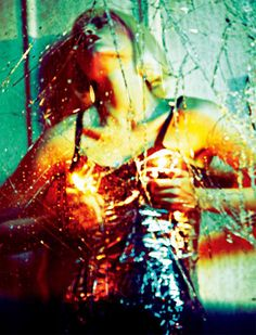 Crash – Crystal Renn is sexy in lingerie inspired looks for the March issue of Numéro China. Captured by Txema Yeste with styling by Tim Lim, Crystal hits the streets of Los Angeles in revealing ensembles from labels such as Alexander McQueen, Emporio Armani, Lanvin and Sportmax in the high gloss images. Blonde hair by Holli Smith and dramatic makeup by Victor Alvarez perfect the smoldering ensembles. / Fashion editor assistant – Niklas Bildstein