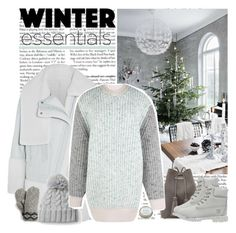"""""""winter essentials"""" by helena99 ❤ liked on Polyvore featuring Kenzo, Tom Ford, Jonathan Saunders, Target, Timberland, CB2, kenzo, knitwear, timberland and jonathansaunders"""