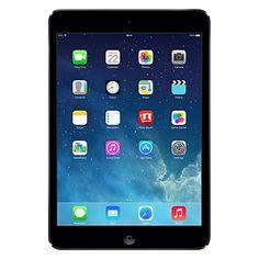 "Buy Apple iPad mini with Retina display, Apple A7, iOS 7, 7.9"", Wi-Fi, 32GB, Space Grey Online at johnlewis.com"