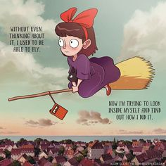 Kiki's Delivery Service - been thinking about this movie a lot lately