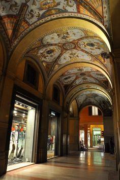 Le volte magnifiche della città di Bologna