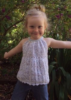 Download Now CROCHET PATTERN Pleated Halter Top Pattern