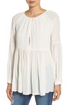 Sincerely Jules 'Cameron' Chiffon Blouse available at #Nordstrom