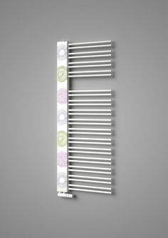 Design radiator Swingo with printed motif