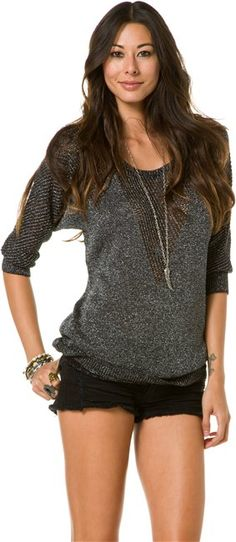STUSSY GLAM PULL OVER SWEATER   http://www.swell.com/STUSSY-GLAM-PULL-OVER-SWEATER?cs=PW