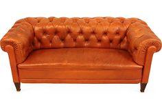 Butterscotch Chesterfield Sofa on OneKingsLane.com