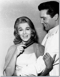 ♡♥Elvis Presley with Ann-Margret in 'Viva Las Vegas' movie in 1964