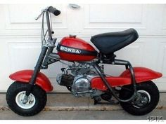 1971 Honda Qa 50 owned one for one day came home from school and it had been stolen off the front porch.lol