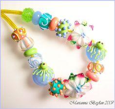 Stargirl Jewelry - Handmade Art Glass Beads and Jewelry by Marianna Boylan