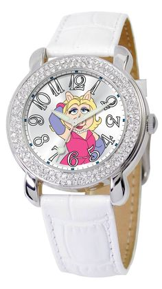 Miss Piggy Watches. How many watches do you reckon The Muppets' Miss Piggy owns? One in every color maybe?