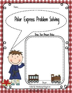 Polar Express - Math and Literacy Unit - Perfect Polar Express Day - The Kinder Project - TeachersPayTeachers.com