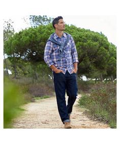 Cherokee Mens Fashion Indigo Jean - Size 34.