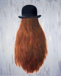 * René Magritte - - - Le Pan de Nuit - 1965