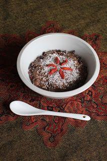 Vegan ohne Soja: Indisches Menü: Nachspeise: Schoko-Chiapudding