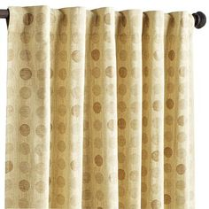 Province Sand Window Panel--these might look really good with our new blinds in the greatroom. Love the texture