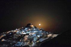 The magical full moon at Anafi island (Ανάφη).