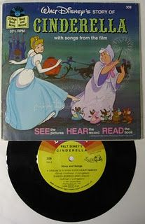 Cinderella read along record book
