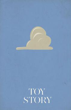 Toy Story (1995) - Minimal Movie Poster by Jacquelyn Halpern #minimalmovieposter #alternativemovieposter #jacquelynhalpern