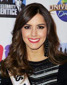 Paulina Vega Miss Universe 2014, Vegas, Cute Celebrities, Celebrity Beauty, True Beauty, Dark Hair, Crushes, Hair Beauty, Image