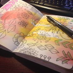 A Southern Lady's Ramblings: Get Creative With the Doodle Circle Journal  Art Journaling in the Doodle Circle Journal