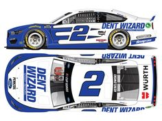 2021 #2 Team Penske paint schemes Ford Mustang, Discount Tires, Brad Keselowski, Classic Race Cars, Paint Schemes, Nascar, Diecast, Racing, In This Moment