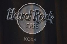 Hard Rock Cafe Kona Hawaii T-Shirt Tee Rock N Roll Memorabilia Size Extra Large  #ShortSleeve