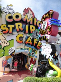 comic strip cafe universal orlando