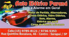 Auto Elétrico Paraná Som e Alarme em Geral