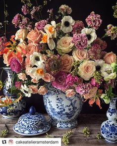 #flowerlovers check out this gorgeous florist #cakeatelieramsterdam