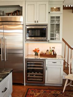 Micro Convection And Wine Cooler Design, Pictures, Remodel, Decor and Ideas - page 6