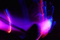 Glasfaser-Gadget mit der digitalen Kamera fotografiert Darth Vader