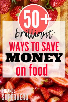 50 Ways to Save Money on Food Save money on food, save money tips, frugal living tips, grocery budget tips Money Saving Meals, Money Saving Challenge, Save Money On Groceries, Ways To Save Money, Money Tips, Groceries Budget, Frugal Living Tips, Frugal Tips, Frugal Meals