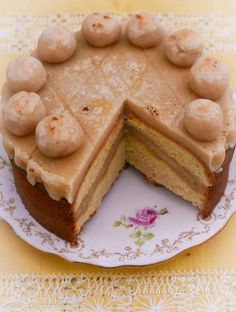 Orange Simnel Cake is fruitless, orange-flavoured cake with a traditional Simnel marzipan filling and topping for a special Mum on Mothering Sunday. Simnel Cake, Traditional Cakes, Dried Fruit, Marzipan, Tea Time, Peanut Butter, Almond, Mothering Sunday, Birthdays