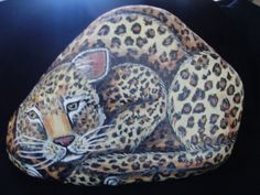 Unique AND beautiful!   STONEIMALS Hand Painted Rocks by karrinmelo on by MeloArtGallery, $89.00